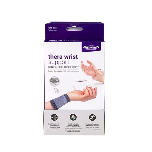 Wrist Compression Sleeve & Magnetic Therapy Displayer of 6