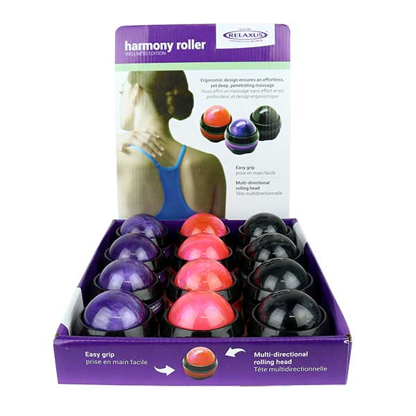 Harmony Handheld Massage Rollers Displayer of 9