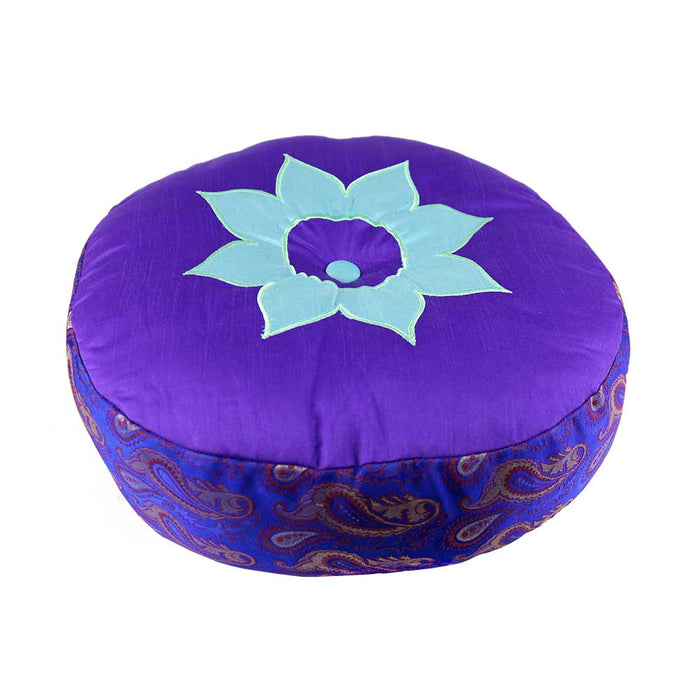 Lotus Purple Meditation Cushion