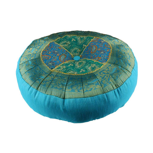 Blue Agra Meditation Cushion