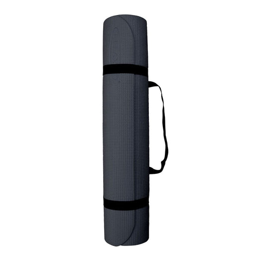 Thick PVC Yoga Mats Grey Relaxus