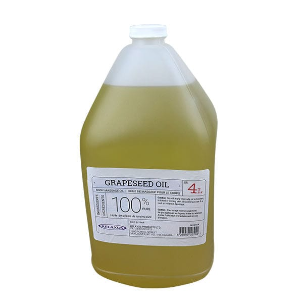 Grapeseed Massage Oil 4L