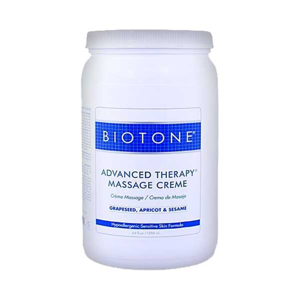Biotone Advanced Therapy Massage Creme 1/2 Gallon