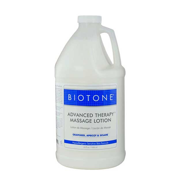 Biotone Advanced Therapy Massage Lotion 1/2 Gallon