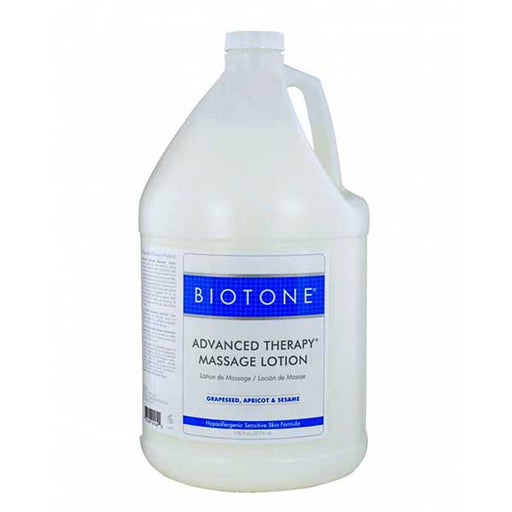 Biotone Advanced Therapy Massage Lotion 1 Galllon