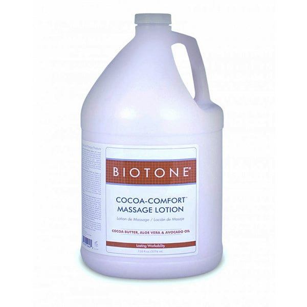 Biotone Cocoa Comfort Massage Lotion 1 Gallon