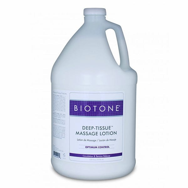 Biotone Deep Tissue Massage Lotion 1 Gallon