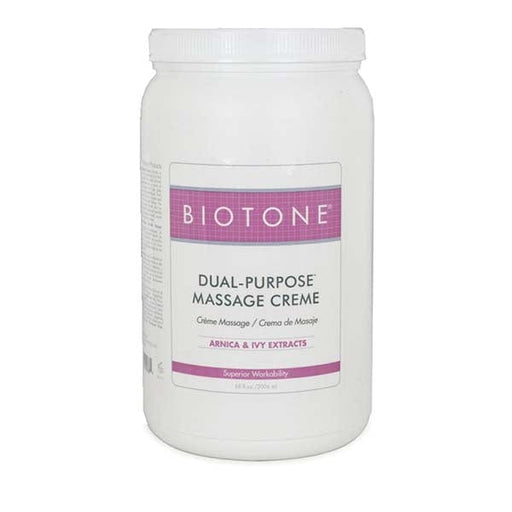 Biotone Dual Purpose Massage Creme 1/2 Gallon