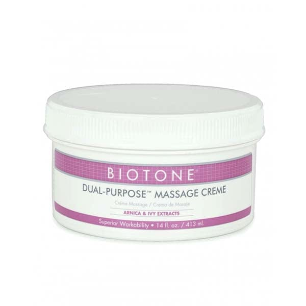 Biotone Dual Purpose Massage Creme 14 oz