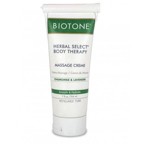 Biotone Herbal Select Body Therapy Massage Creme 7 oz