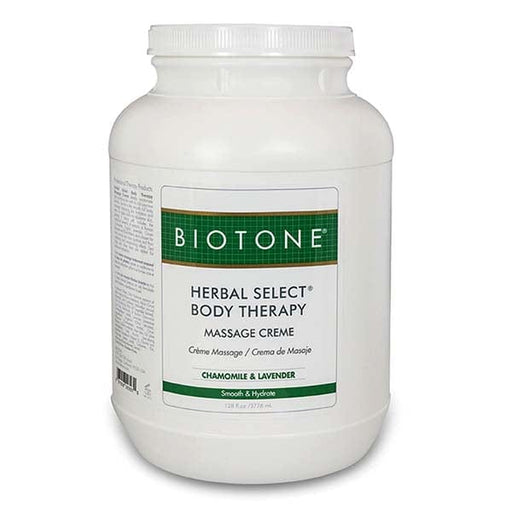 Biotone Herbal Select Body Therapy Massage Creme 1 Gallon