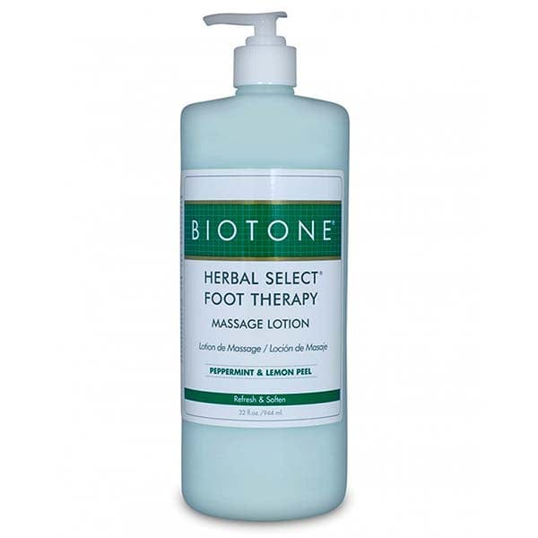 Biotone Herbal Select Foot Therapy Massage Lotion 32 oz