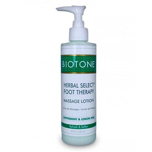 Biotone Herbal Select Foot Therapy Massage Lotion 8 oz