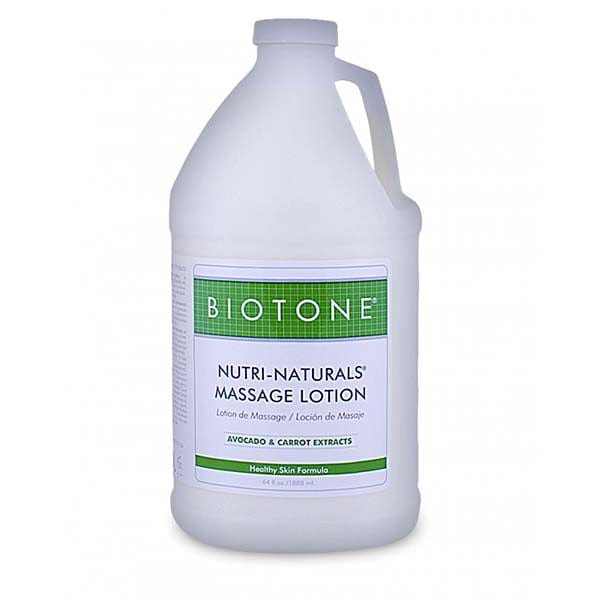 Biotone Nutri-Naturals Massage Lotion 1/2 Gallon