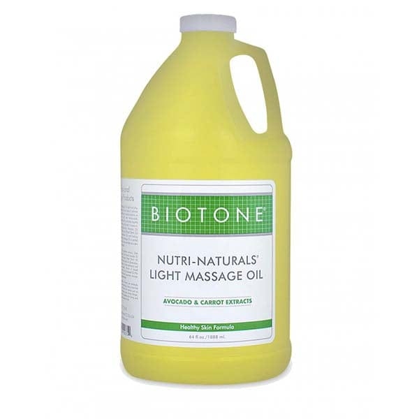 Biotone Nutri-Naturals Light Massage Oil 1/2 Gallon