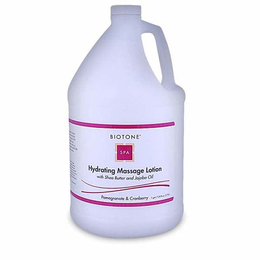 Biotone Pomegranite & Cranberry Hydrating Massage Lotion 1 Gallon