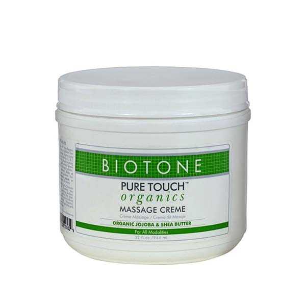 Biotone Pure Touch Organics Massage Creme 32 oz