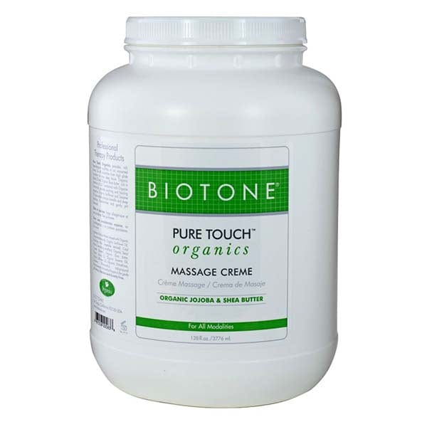 Biotone Pure Touch Organics Massage Creme 1 Gallon