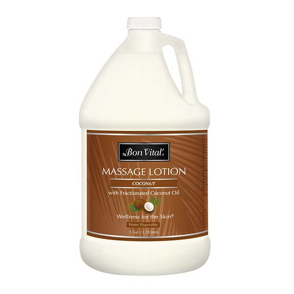 Bon Vital Coconut Massage Lotion  1 Gallon