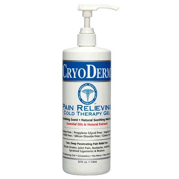 CryoDerm Pain Relieving Cold Therapy 32 Oz Pump