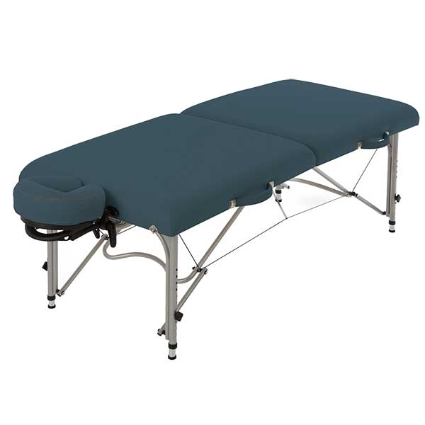Earthlite Mystic Blue Luna Portable Massage Table Package