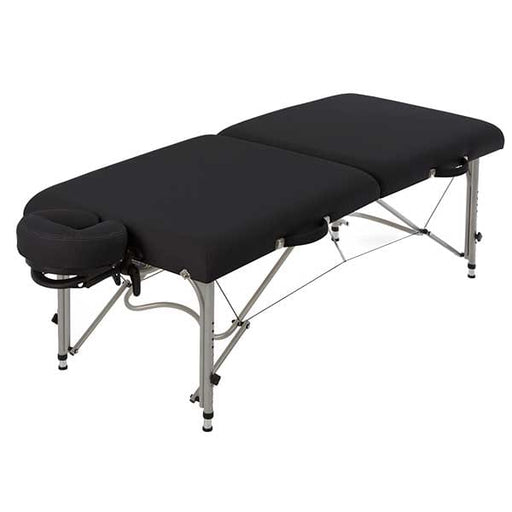 Earthlite Black Luna Portable Massage Table Package