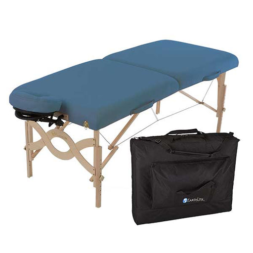 Earthlite Mystic Blue Avalon XD Portable Table Package