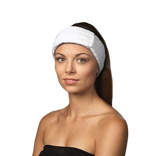Headband Stretch Cotton White