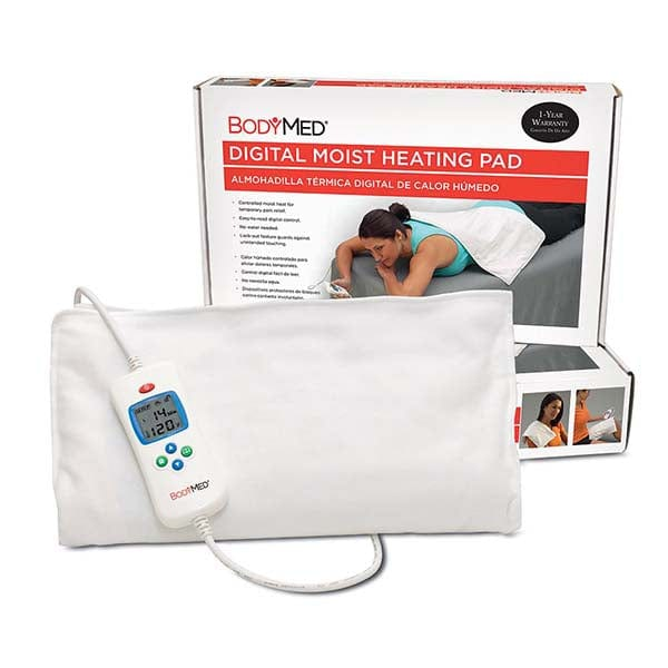 "BodyMed Digital Moist Heating Pad 14"" x 27"""