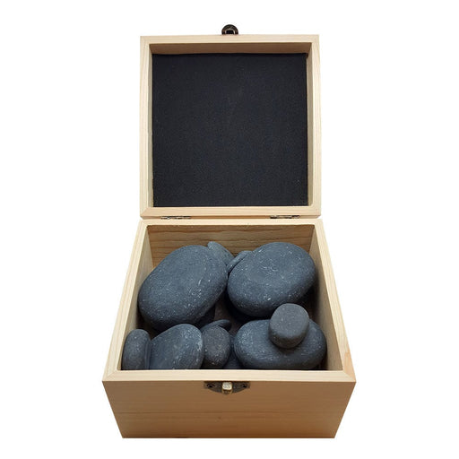 Hot Stone Polished Massage Set