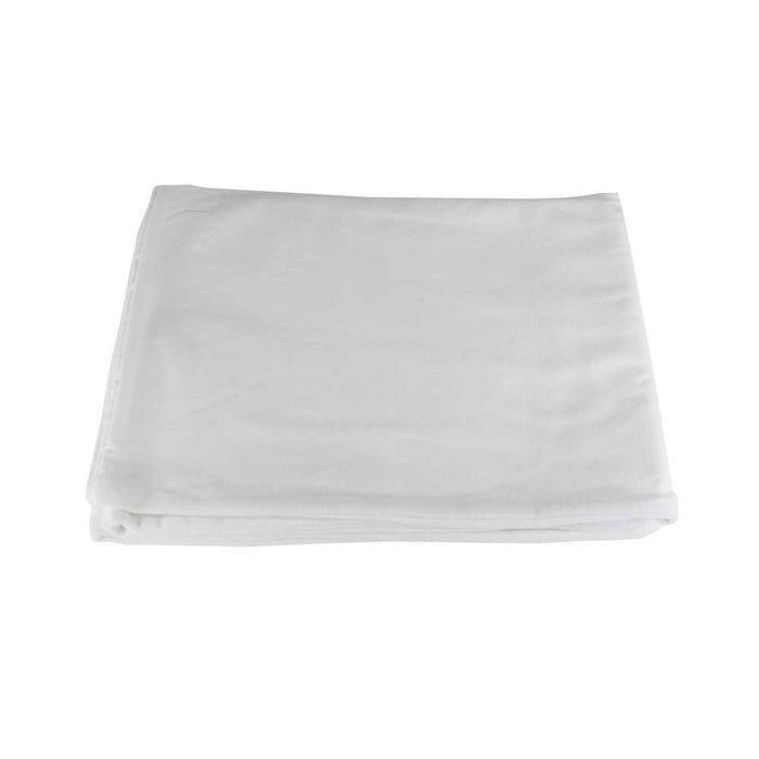 White Spa Flannel Pillow Cases