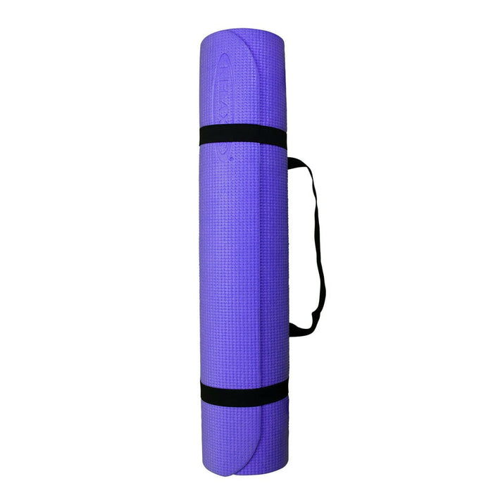 Thick PVC Yoga Mats Purple Relaxus