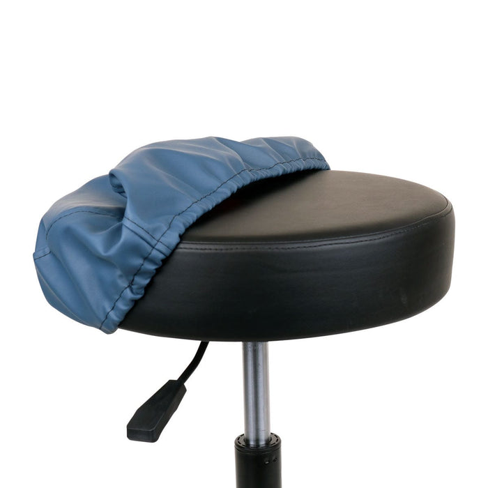 Rolling Massage Stool Cover Blue