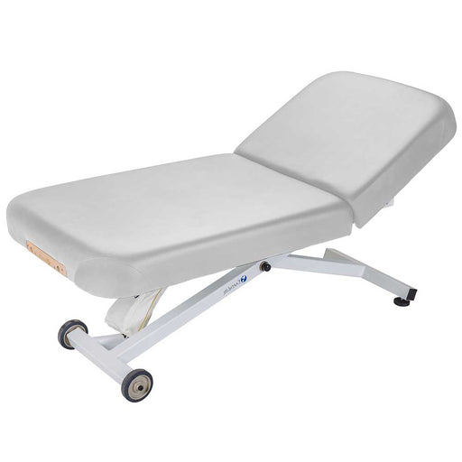 "Earthlite Ellora Manual Tilt Electric Massage Table (30"" Sterling)"