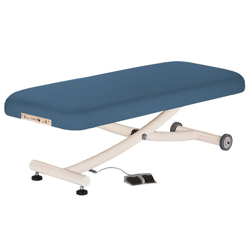 "Earthlite Ellora Vista Flat Electric Massage Table (30"" Mystic Blue)"