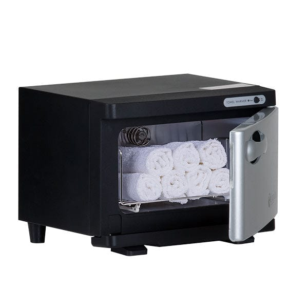 Earthlite UV Hot Mini Towel Warmer Black