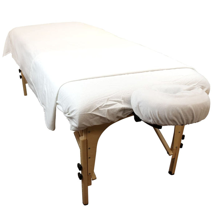 Cotton Flannel Fitted Massage Table Sheets