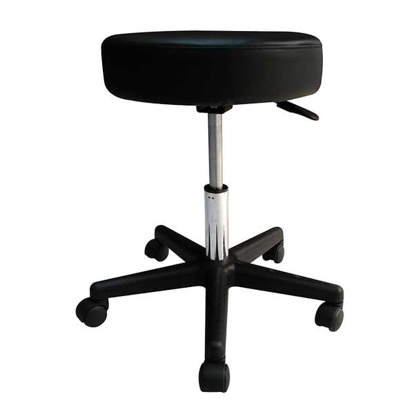Relaxus Black Pneumatic Rolling Massage Stool