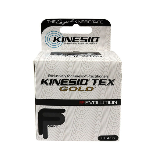 Kinesio Tex Tape Water Resistant Black