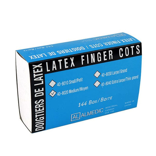 Latex Finger Cots - Disposable Gloves