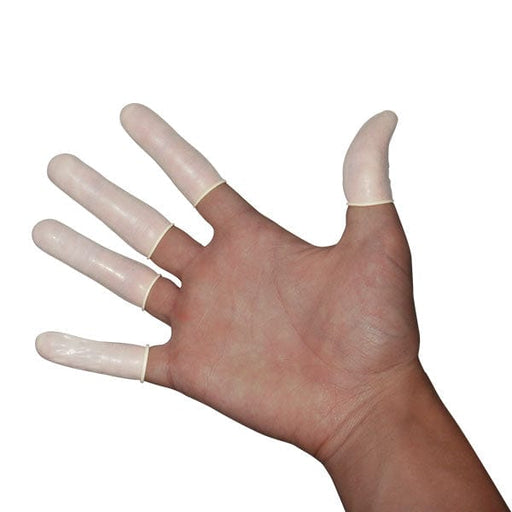 Latex Finger Cots (150 Pieces)