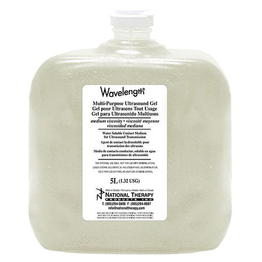 Wavelength Ultrasound Clear Gel 5L