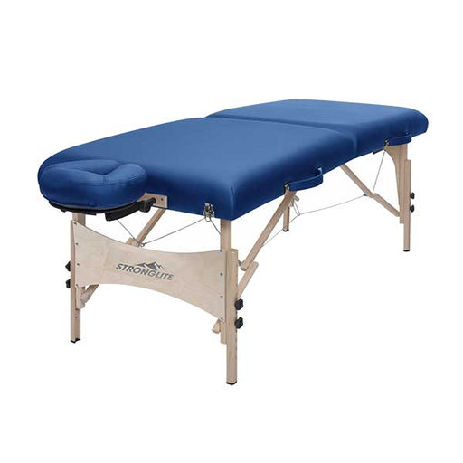Stronglite Classic Royal Blue Deluxe Portable Massage Table Package
