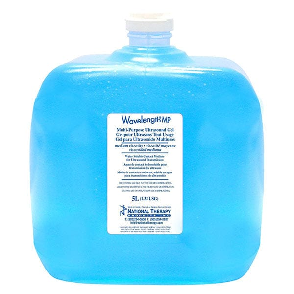 Wavelength Ultrasound Blue Gel 5L