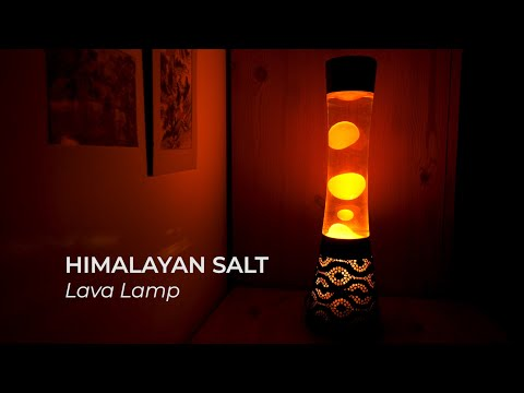 Himalayan Salt Lava Lamp video