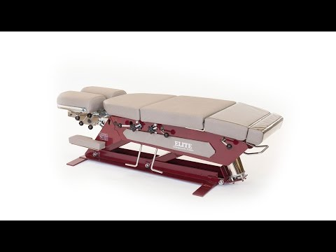 Elite Pump Control Elevation Chiropractic Table (Base Model Only)