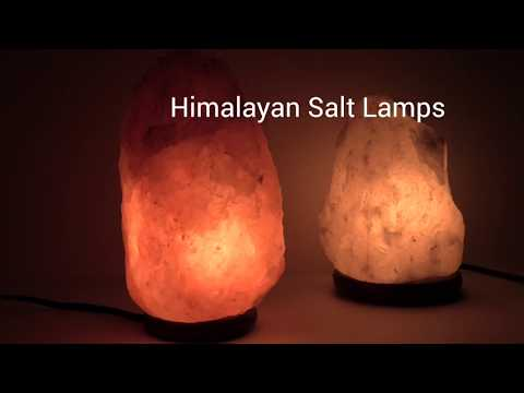 Amber Himalayan Mini Salt Lamp With USB