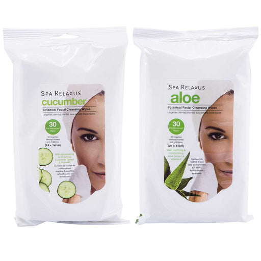Wholesale Botanical Facial Cleansing Wipes