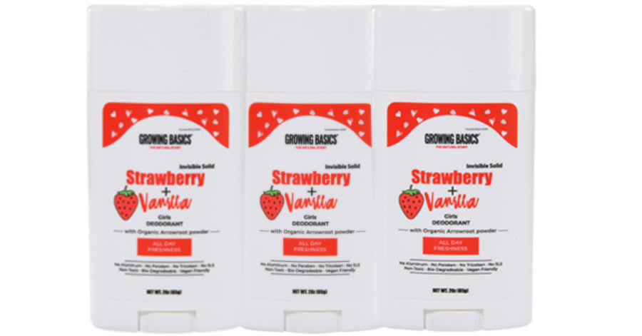Strawberry Vanilla kids deodorant