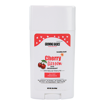 Cherry blossom kids deodorant for girl ages 8 up